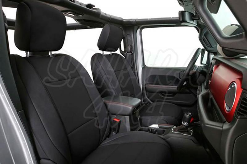 Fundas de asiento Neopreno SmittyBilt para Jeep Wrangler JL