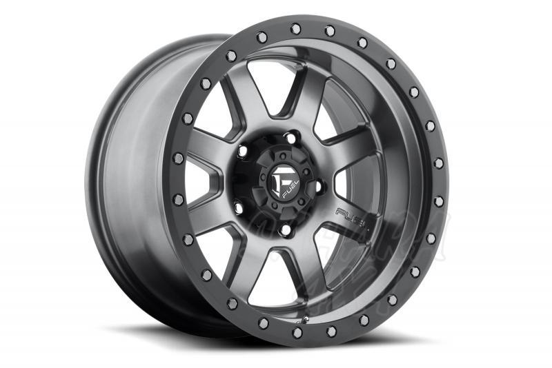 Llanta Fuel Trophy Aluminio para Ford Ranger (2012-) - Medida: 8.5x17 6x139.7 ET+6 (+10cm)