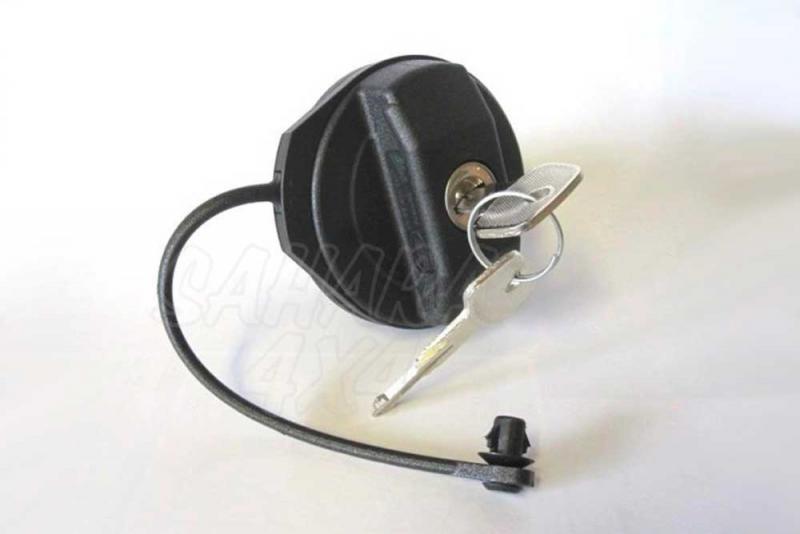 Tapon de gasolina con llave (DEFENDER Td5 , Tdci y Td4) - Tapon de gasoil original.