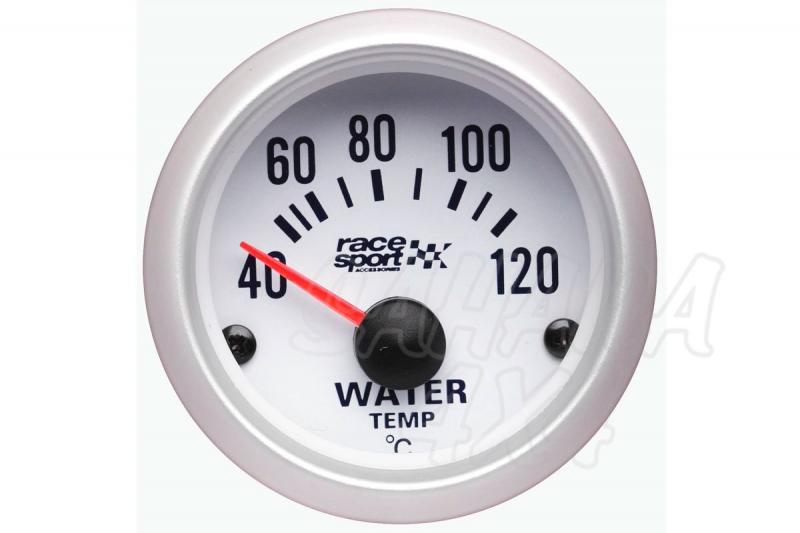 Termómetro Temperatura de Agua Race Sport - 12v / 52mm Ø