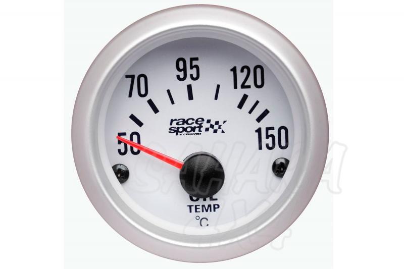Termómetro Temperatura de Aceite Race Sport - 12v / 52mm Ø