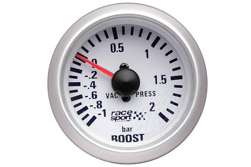 Manómetro Presión de Turbo Race Sport - 12v / 52mm Ø
