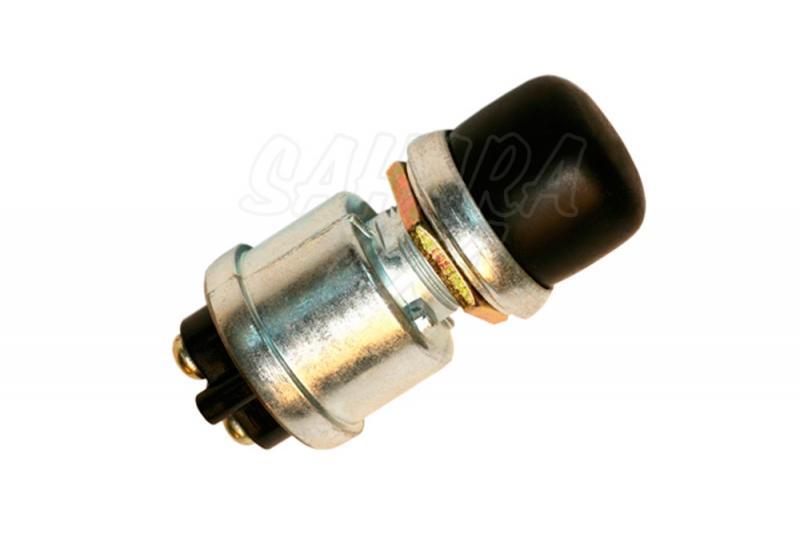 Interruptor Pulsador con proteccion de goma- 30 Amp - Ideal para usarlo en winch, arranque o aplicaciones especificas.