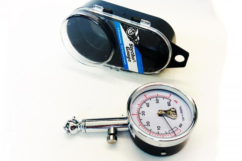 Comprobador analogico de presión metálico - Campo de medicion 0,5 - 4.0