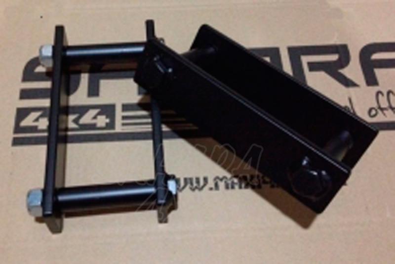 Conjunto de gemelas para Nissan Navara D-22 - Elevacion aproximada + 4 cm