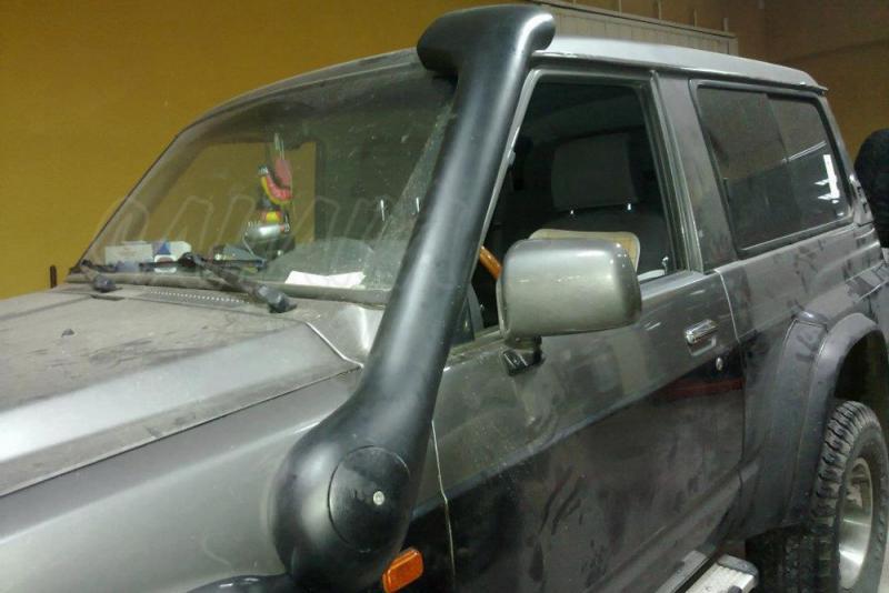 Snorkel Temko new style para Nissan Patrol GR Y60 - Nuevos snorkels de fibra de vidrio, nuevo estilo + aerodinamico.