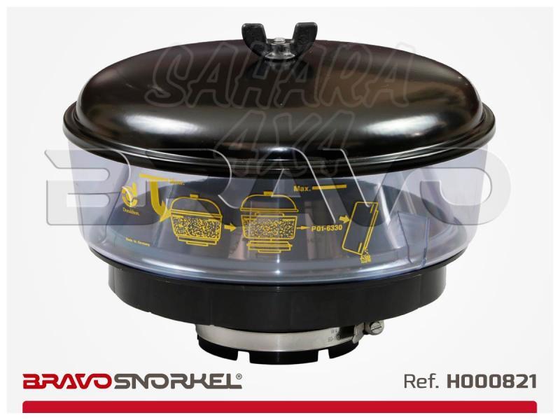 Filtro ciclonico Donaldson 270mm para snorkel 89mm , H000821 - 270 centimetros de diametro. recomendable para zonas muy polvorientas