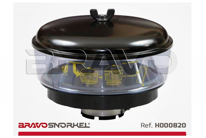 Filtro ciclonico Donaldson 270mm para snorkel 77mm , H000820 - 270 centimetros de diametro. recomendable para zonas muy polvorientas