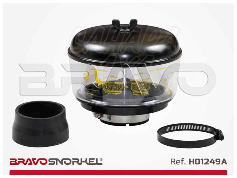 Filtro ciclonico Donaldson 186mm para snorkel89mm , H001249A - 186 centimetros de diametro. recomendable para zonas muy polvorientas