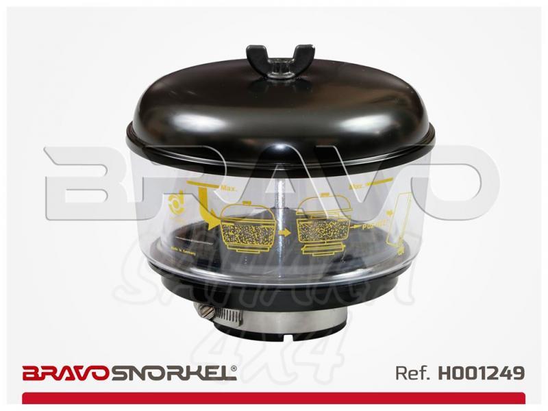 Filtro ciclonico Donaldson 186mm para snorkel 77mm , H001249 - 186 centimetros de diametro. recomendable para zonas muy polvorientas