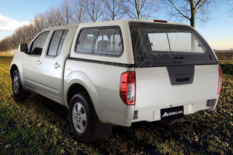 HardTop AEROKLAS en ABS, con ventanas (doble cabina) para Isuzu D-Max/Rodeo 2002-2012