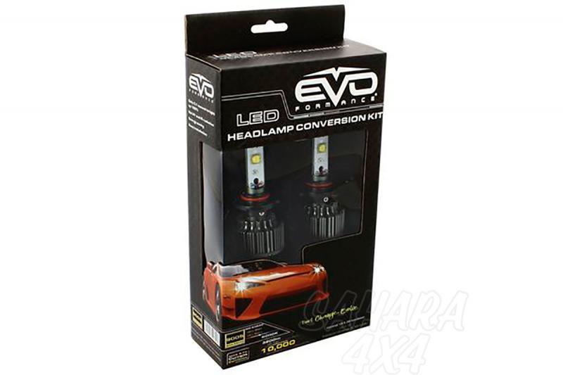 Kit de Conversión Bombillas HB4 LED Evo Formance  - Sustituya sus antiguas bombillas por unas potentes de LED. Montaje fácil y rápido, no requiere ningún tipo de modificación eléctrica.
