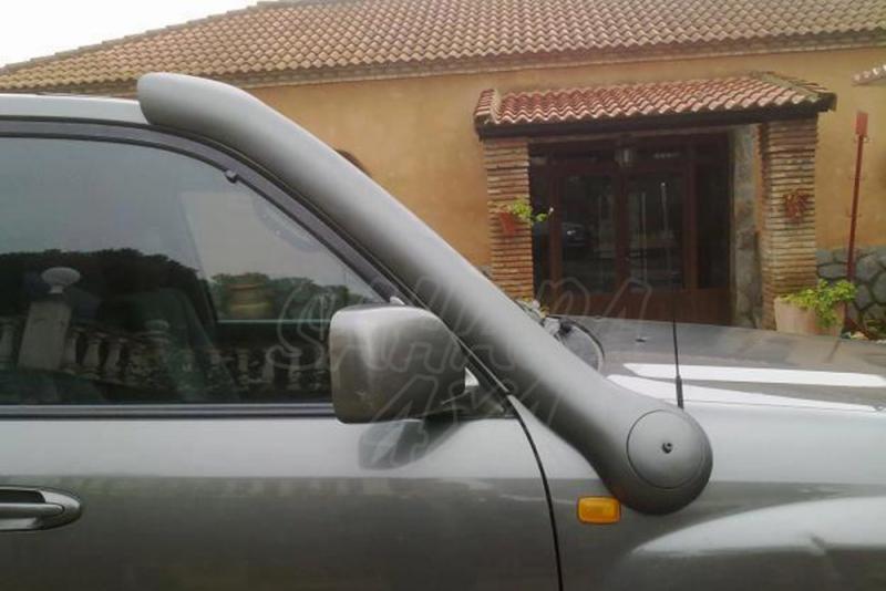 Snorkel Temko new style para Toyota HDJ 100 - Nuevos snorkels de fibra de vidrio, nuevo estilo + aerodinamico.