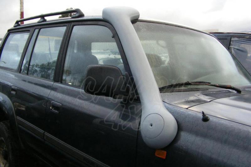 Snorkel Temko new style para Toyota HDJ 80 - Nuevos snorkels de fibra de vidrio, nuevo estilo + aerodinamico.