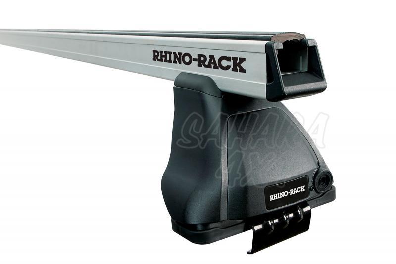 Barras Rhino Rack Heavy Duty 2500 para Nissan Navara D23 (2015-)