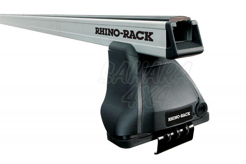 Barras Rhino Rack Heavy Duty 2500 para Range Rover Sport (2013-) - Kit de barras para marco interior de puerta, carga máxima 75Kg (por barra)