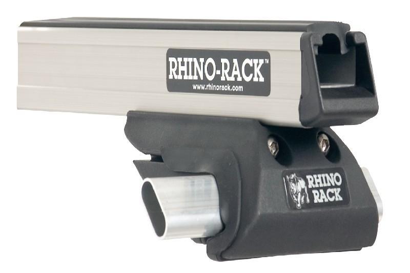 Barras Rhino Rack Heavy Duty CXB para Land Rover Discovery I/II - Kit de 2 barras para Railing, carga máxima 50Kg (por barra)