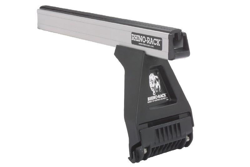 Barras Rhino Rack Heavy Duty para Nissan Patrol GRY60 SWB 3p (1988-1995) - Kit de barras para vierteaguas, carga máxima 100Kg (por barra)