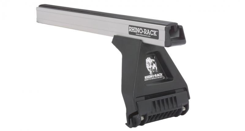 Barras Rhino Rack para vierteaguas  - 4 pies y 2 barras , carga maxima 100 kg.