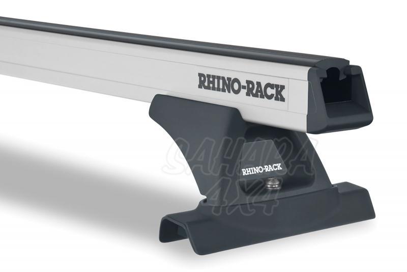 Barras Rhino Rack Heavy Duty para Nissan X-Trail (2007-2014) - Kit de barras para techo, carga máxima 70Kg (por barra)