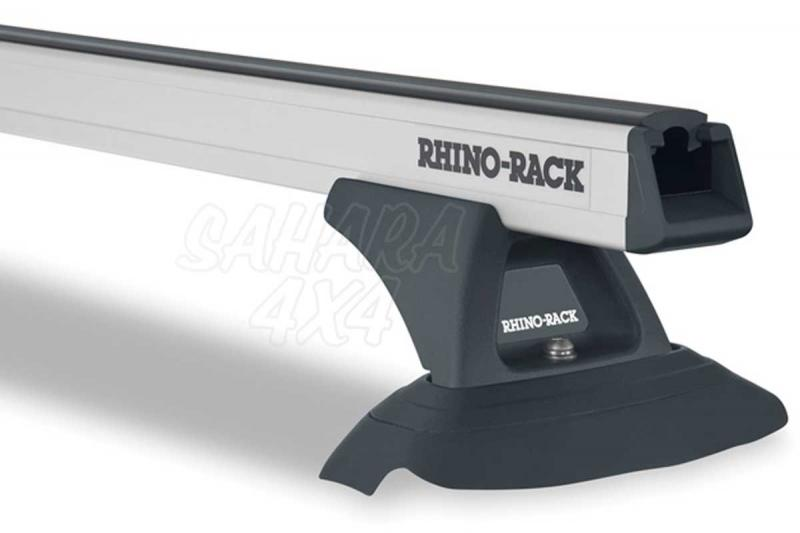 Barras Rhino Rack Heavy Duty para Toyota Land Cruiser 150 155 2009- - Kit de barras para techo, carga máxima 100Kg (por barra)