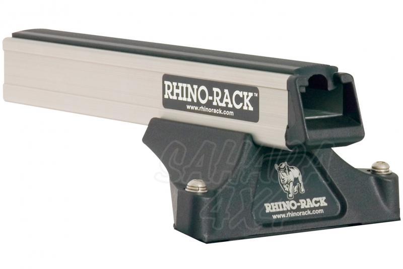 Barras Rhino Rack Heavy Duty RLTP para Range Rover (1995-2002) - Kit de barras para fijacion en techo, carga máxima 50Kg (por barra)