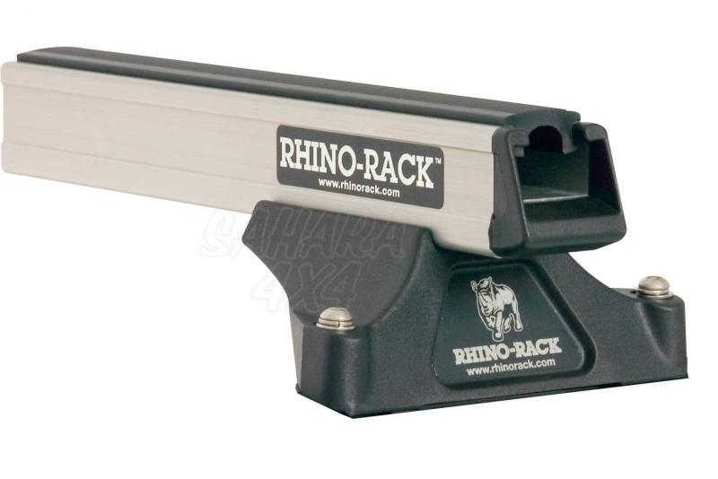 Barras Rhino Rack para techo - 4 pies y 2 barras , carga maxima 90 kg.