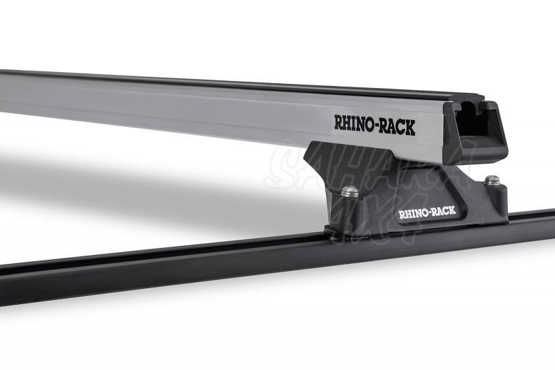 Barras Rhino Rack Heavy Duty RLTP para Kia Sportage (1996-2004) - Kit de barras para techo, carga máxima 100Kg (por barra)