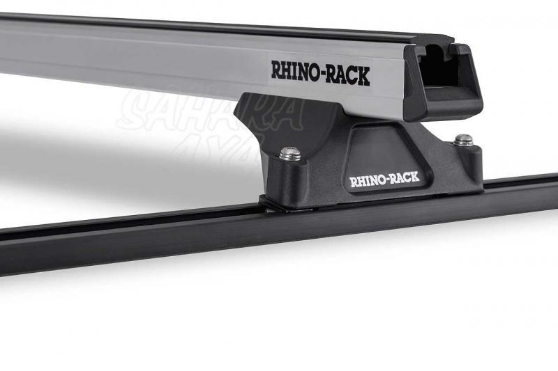 Barras Rhino Rack Heavy Duty para Toyota Hilux 1997-2005 - Kit de barras para techo, carga máxima 100Kg (por barra)