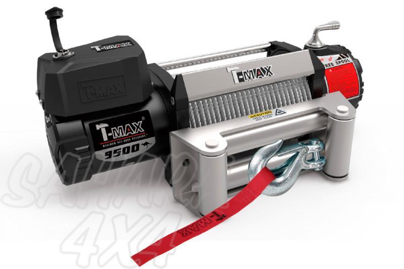 Cabestrante T-MAX X-Power HEW-9500 12V de 4305Kg -