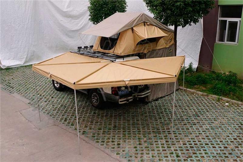 Toldo Hexagonal genara 2,5 mts - Valido para cualquier baca , *El precio solo incluye el toldo.