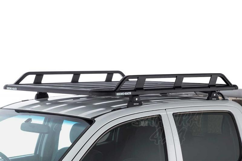 Baca Rhino Rack Pioneer Tradie para Toyota Hilux Vigo 2005-2016 - Medidas 1328mm x 1236mm o 1528mm x 1236mm (135 mm altura) , carga máxima 100Kg