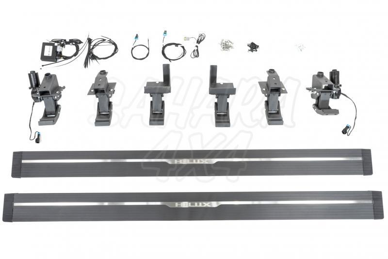 Estribos eléctricos STEPZ para Toyota Hilux 15-17