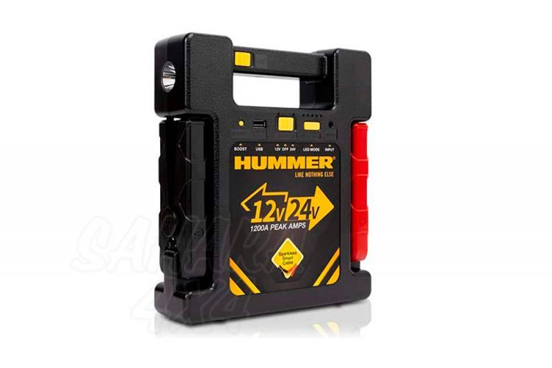 Bateria Hummer 23000MAH 12/24v , Cargador y arrancador de emergencia