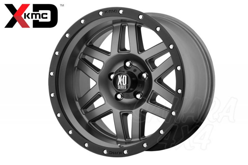 18x9 KMC XD-128 Wheel ET 18 6x139.7 Gris Mate