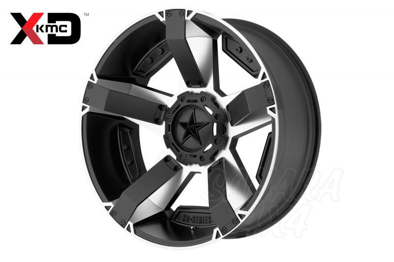 18x9 KMC XD 811 Wheel 6x114.3 negro mate / aluminio mecanizado