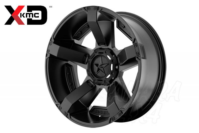 17x8 KMC XD 811 Wheel ET 10  5x114.30/5x127 Negro Satinado
