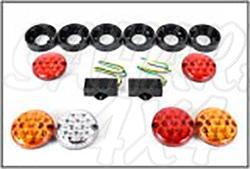 Luces traseras LED, para Land rover Defender - Lamparas traseras con diseño NAS