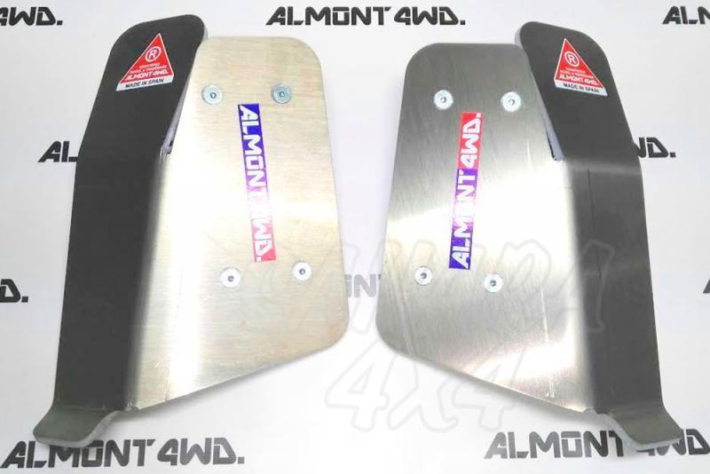 Protector de Amortiguador Trasero Almont para Toyota Land Cruiser 200 - Duraluminio H111  8mm