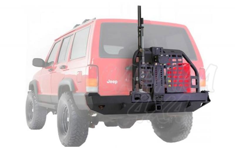 Paragolpes Trasero con soporte de rueda Smittybilt XRC - Jeep Cherokee XJ -
