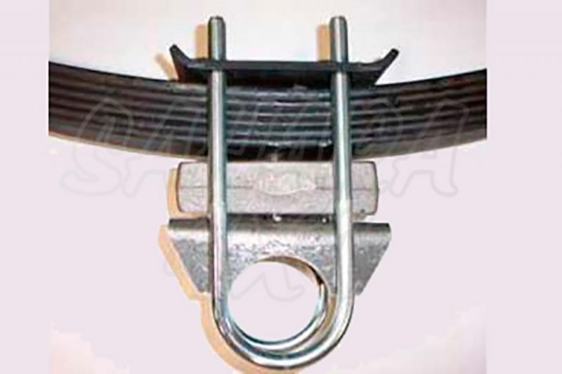 Tacos de Elevacion traseros para ballesta 4 cm - 5 cm - Jeep Cherokee XJ - Pareja de tacos , no incluye U-Bolts