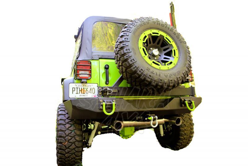 Paragolpes Trasero Rugged Ridge XHD para Jeep Wrangler JK