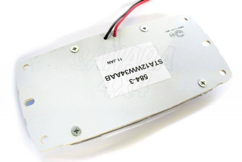 Luz Interior 34 LED 12v - Plafon de LED 12v