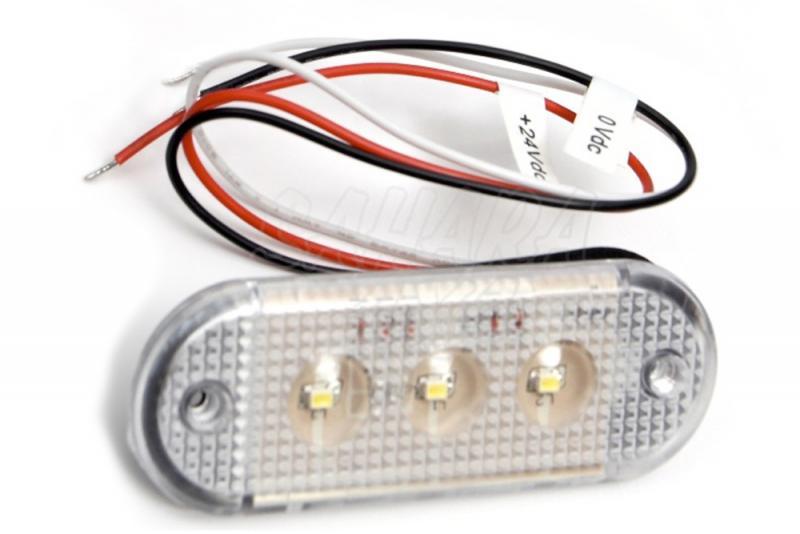 Luz Interior 3 LED 12/24v - Luz de LED 12/24v