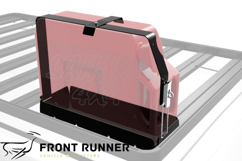 Soporte Jerrycan simple, horizontal Front Runner - Valido para Bacas Front Runner