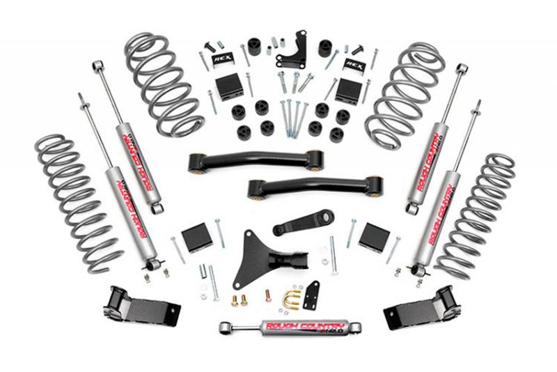 Kit de suspension WJ 4in con brazos y 2.0  - Rough Country