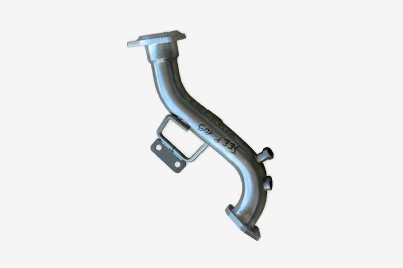 Dual Probe Decatalyst for Jeep JK 2.8L CRD 200hp 2011-15   Tecinox