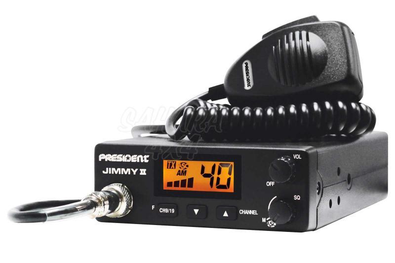 Emisora President Jimmy II ASC 40 Cx AM - Emisora 27mhz AM
