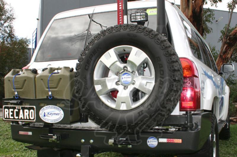 Parachoques Trasero Kaymar Nissan Patrol GR Y61 - Configurar el paragolpes.