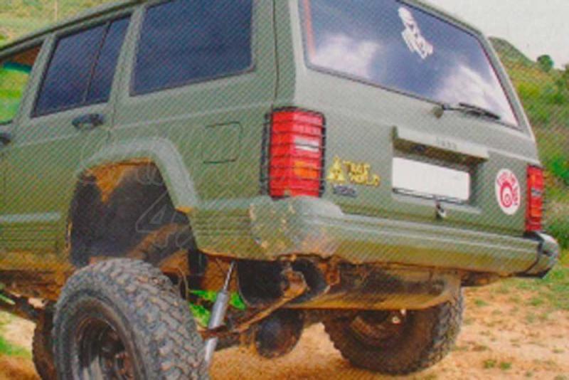 Juego protectores de pilotos traseros superiores - Jeep Cherokee XJ MOD. 91 o MOD. 97 (especificar modelo)